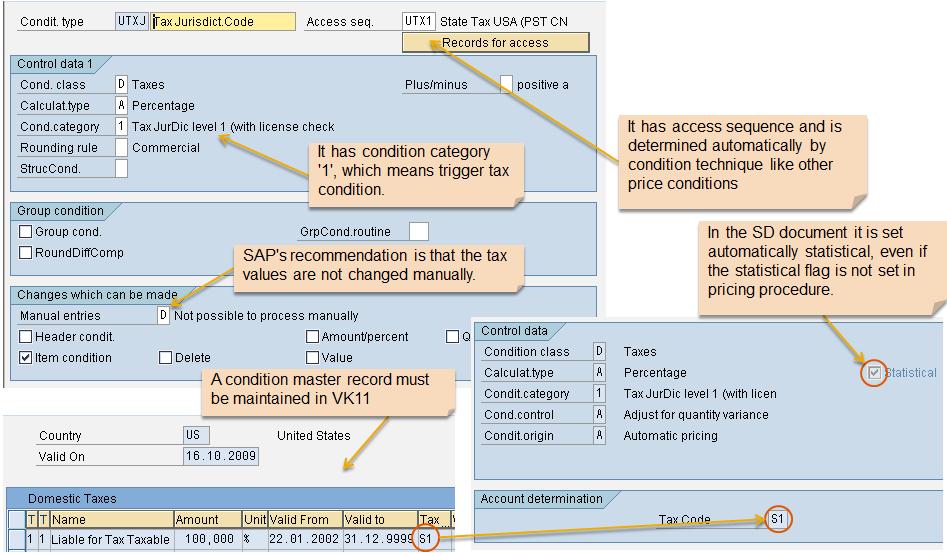 tax jurisdiction erp sd scn wiki