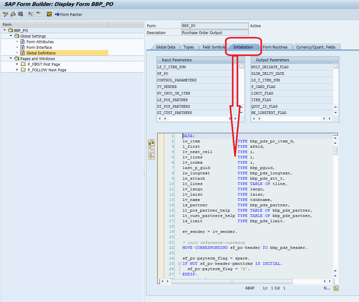 How To Test Smart Forms From SAP GUI