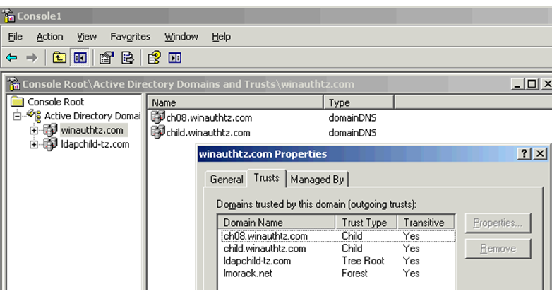 Domains ,Forests,Organizational Units and Active Directory