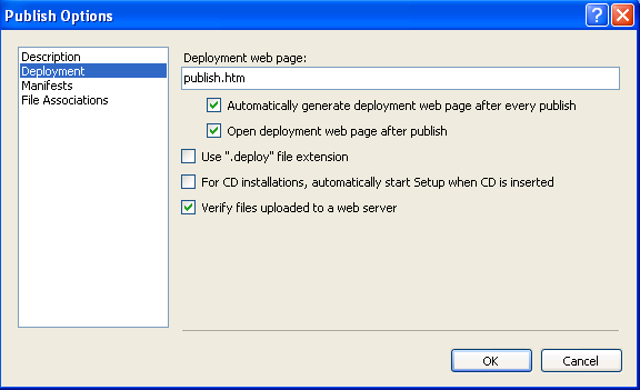 Deploying a SQL Anywhere  NET Application Using ClickOnce