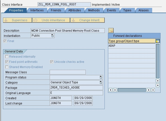 How do you implement a MDM Connection Help Class? - SAP Master Data