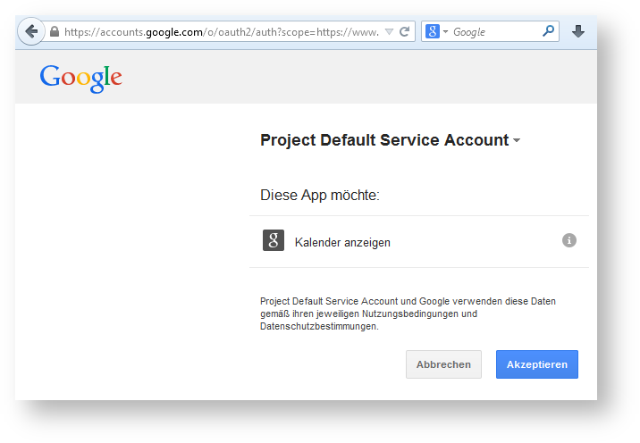 Access Google APIs using the OAuth 2 0 Client API - Security and