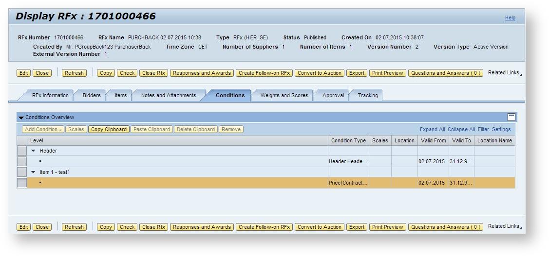 DH - BID - Conditions tab - Supplier Relationship Management - SCN Wiki