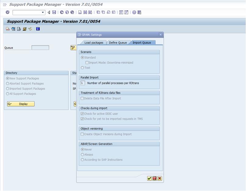 DOWNTIME OPTIMIZATION - Software Logistics - SCN Wiki