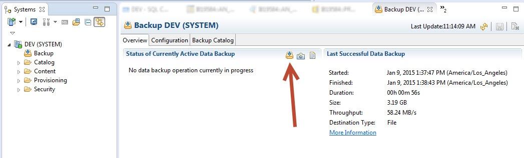 SAP HANA Backup and Recovery - SAP HANA - SCN Wiki