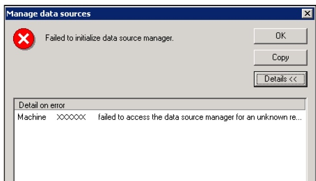 SAP Financial consolidation :Troubleshooting DCOM error
