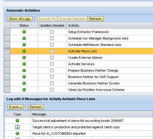 how to configure it task management technical operations scn wiki