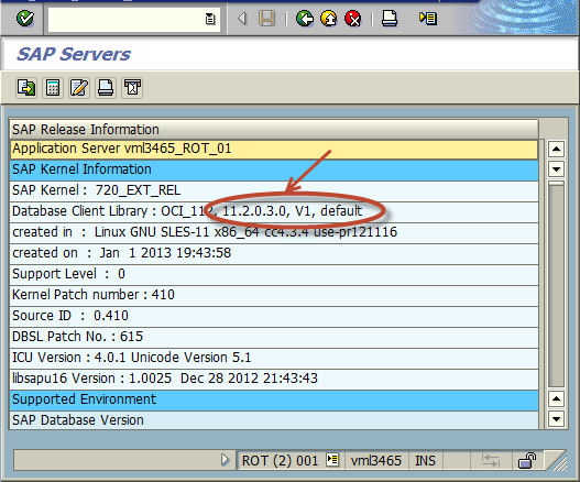How to identify Oracle Instant Client Version - SAP on Oracle - SCN Wiki