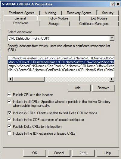 Understanding CRL checks performed by the Enrollment Server
