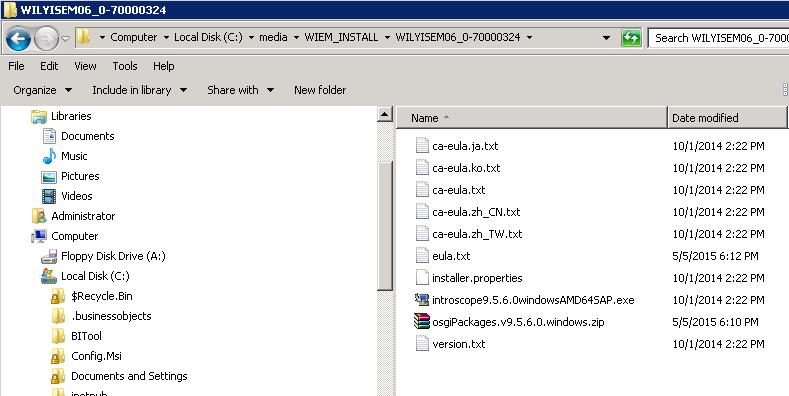 Tutorial For Setting Up Introscope 9 5 For BI Platform 4 1