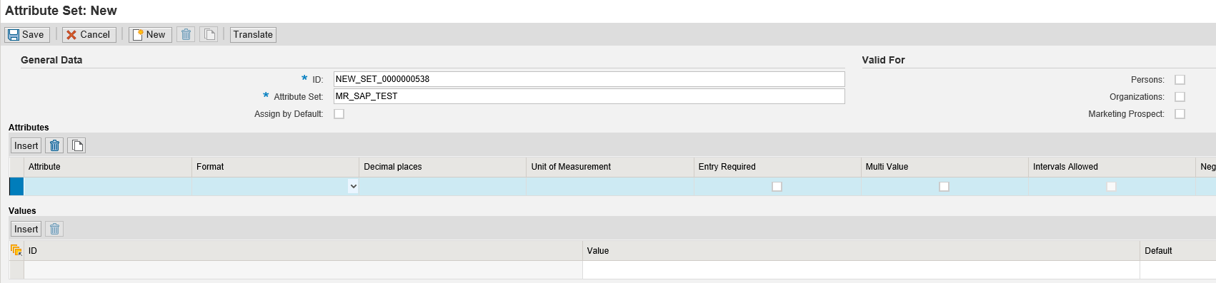 sap crm custom assignment block