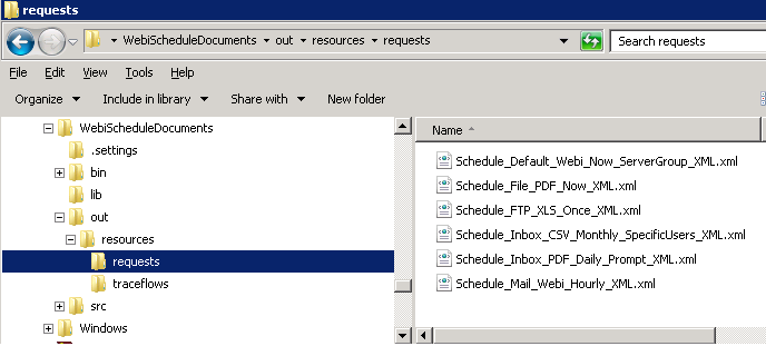 Java samples using the SAP BusinessObjects RESTful Web