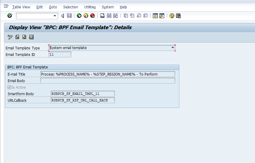 How To Maintain BPF Email Templates Enterprise Performance - Email table template