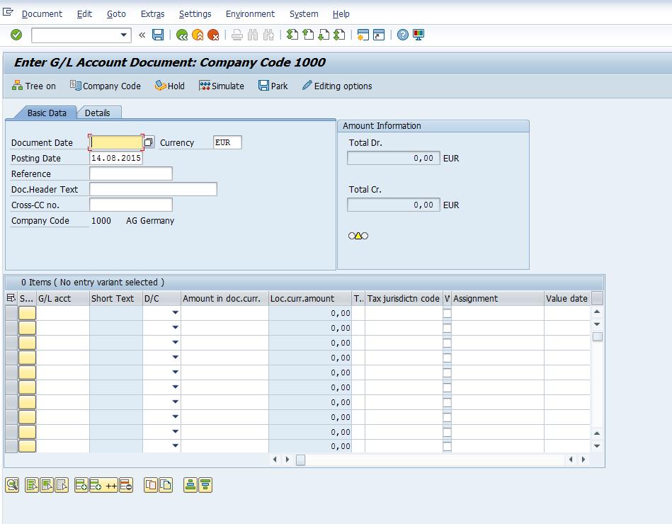 Transaction variants and Screen variants - ERP Financials
