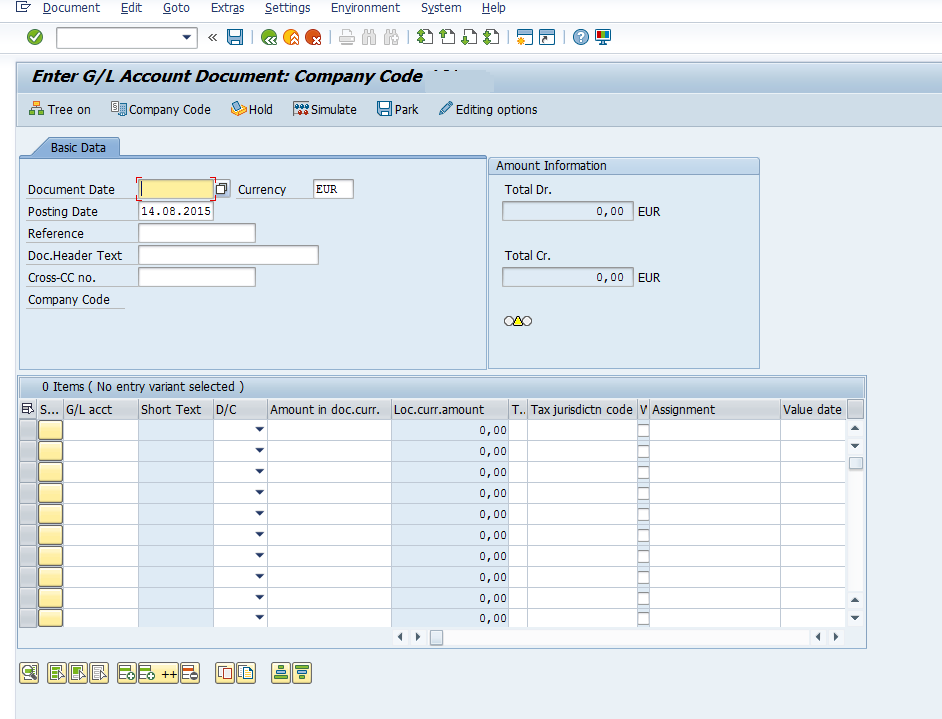 Transaction variants and Screen variants - ERP Financials - SCN Wiki