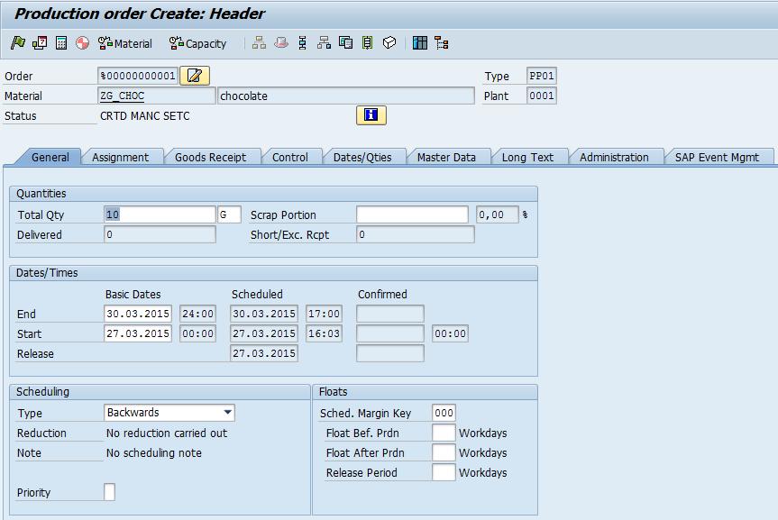 sap business one user manual pdf