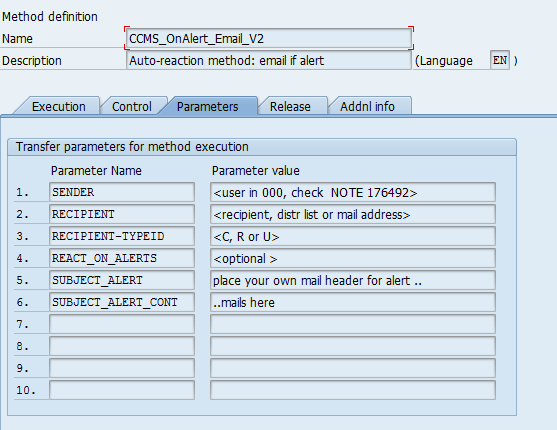 Monitoring Update Resources Using CCMS Infrastructure