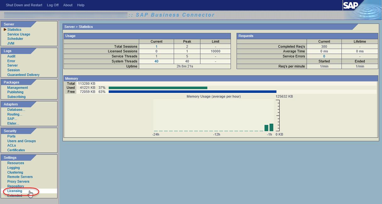 TSG) SAP Business Connector 4 8 License Key - SAP Netweaver