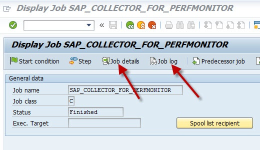 Troubleshooting: Monitoring jobs don't work properly - SAP
