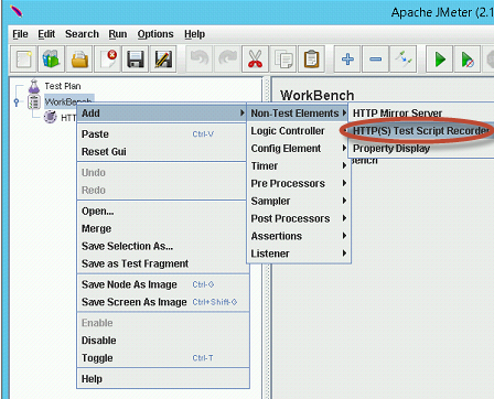 Recording the workflow with Apache JMeter - Business