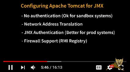 How to configure JMX for Apache Tomcat (Windows) - Business
