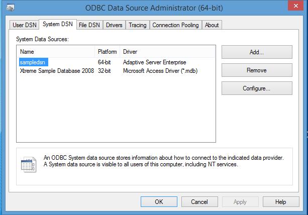 ODBC Data Source on Windows - SAP Connectivity - SCN Wiki