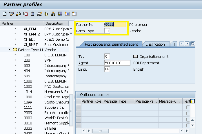 How to set up intercompany billing - vendor invoice via EDI ...