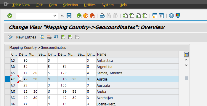 Business Partner Address Geocoding Standards - Supply Chain