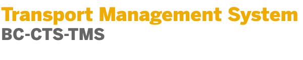 Transport Management System - Software Logistics - SCN Wiki