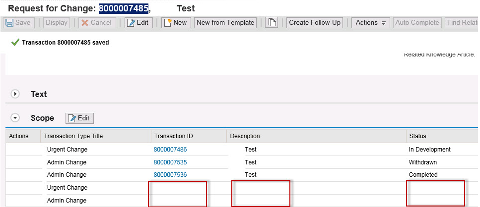 SAP Solution Manager 7 2 - Change Request Management: Usual
