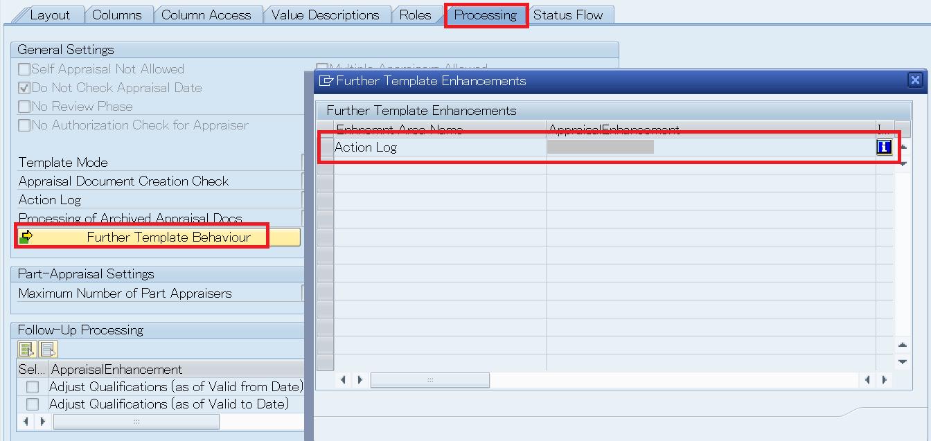 HRHAP00ACTIONLOG Appraisal Document Action Log ERP Human – Action Log Template