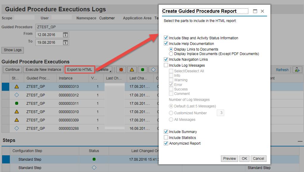 Guided Procedure Log 7 20 - SAP Solution Manager Setup - SCN