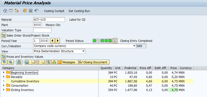 Post closing step - ERP Financials - SCN Wiki