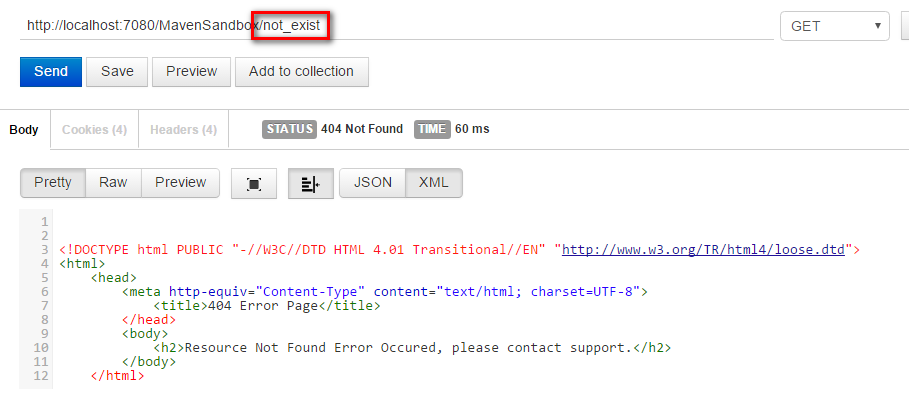 How to implement custom error message for Spring MVC - Java