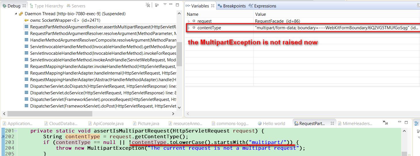How to resolve error message org springframework web
