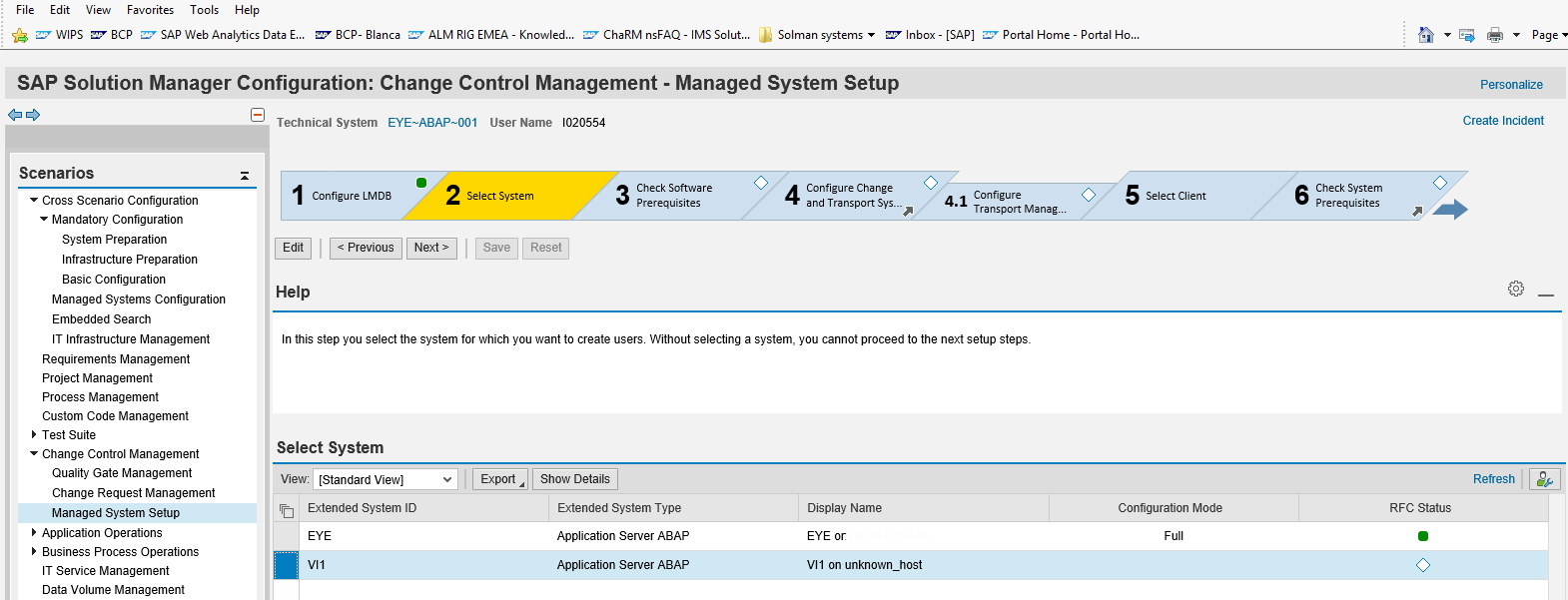 How to create a virtual system in SAP Solution Manager 7 2