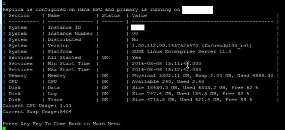 HANA Administration shell script - SAP HANA - SCN Wiki