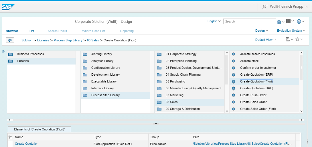 Process step library - Solution Manager - SCN Wiki