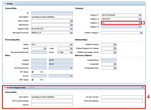copy of service request management service request fulfillment sap