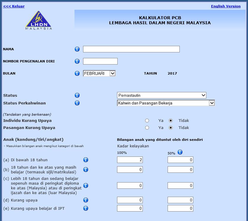 How to use IRB e-calculator using LTAX payroll log  - ERP