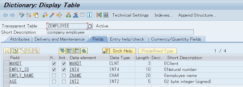 Troubleshooting on ABAP Dictionary Objects - Technology