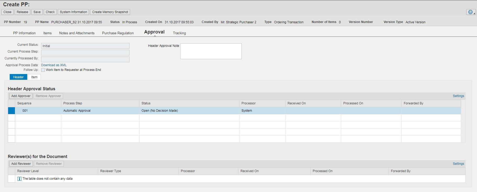SRM PP - Approval - Supplier Relationship Management - SCN Wiki