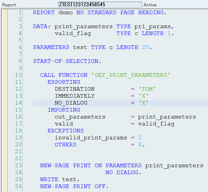Introduction to Print Dialog & Print Settings - ABAP