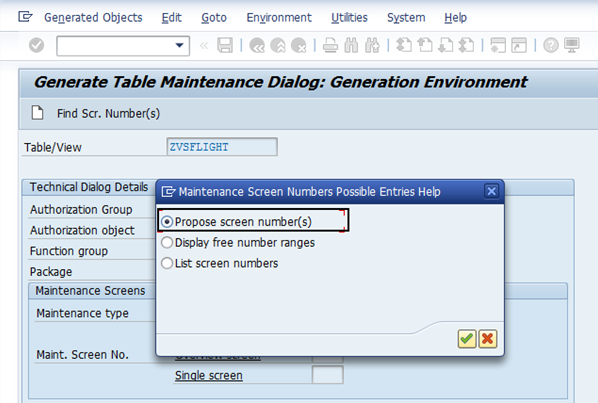 How to create a view cluster for custom table/view maintenance