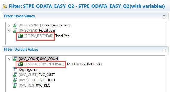ODATA Easy Query: Example III - SAP NetWeaver Business