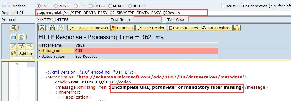 Http Status Code For Business Error