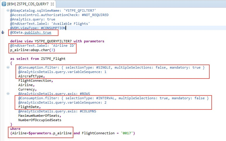 ODATA CDS Query: Example VII - SAP NetWeaver Business Warehouse