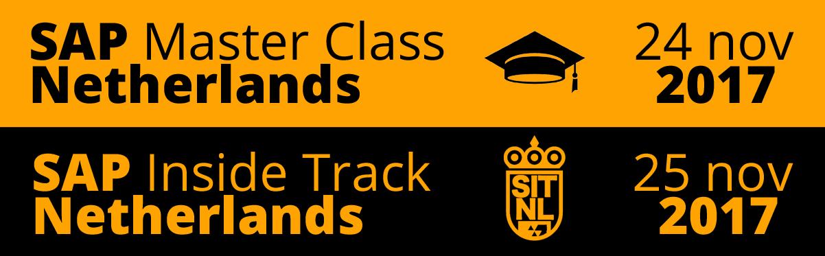 SAP Inside Track 2017 Netherlands (#sitNL) - SAP Inside