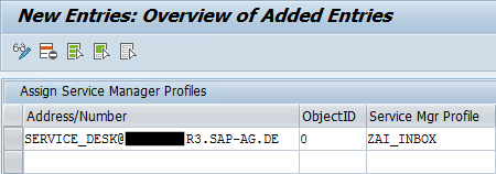 E-MAIL INBOUND CONFIGURATION- ALM: Incident Management - SAP