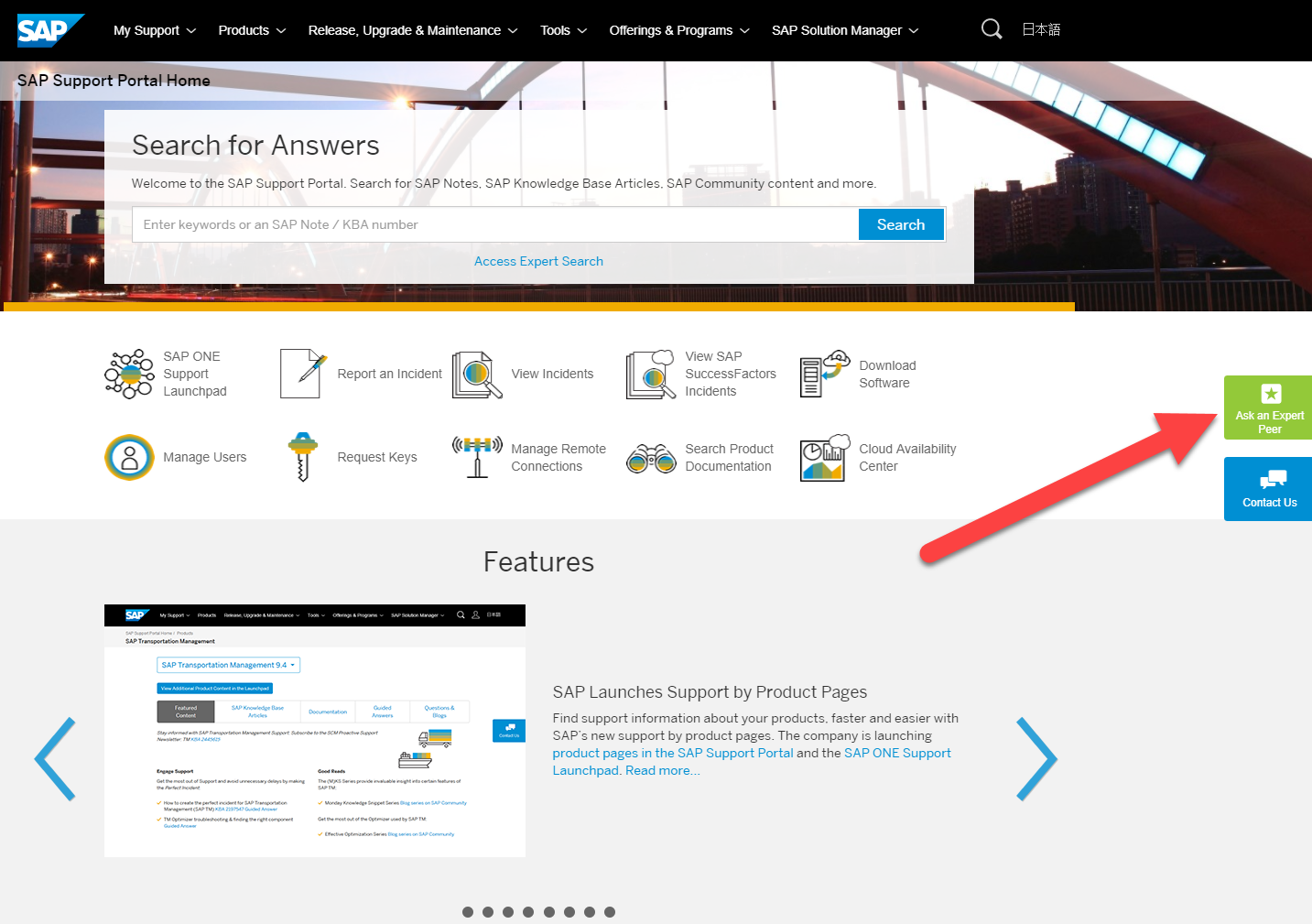 Join SAP's free feature trial program Ask an Expert Peer